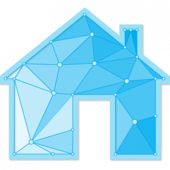 IdencyHome icon - connected house
