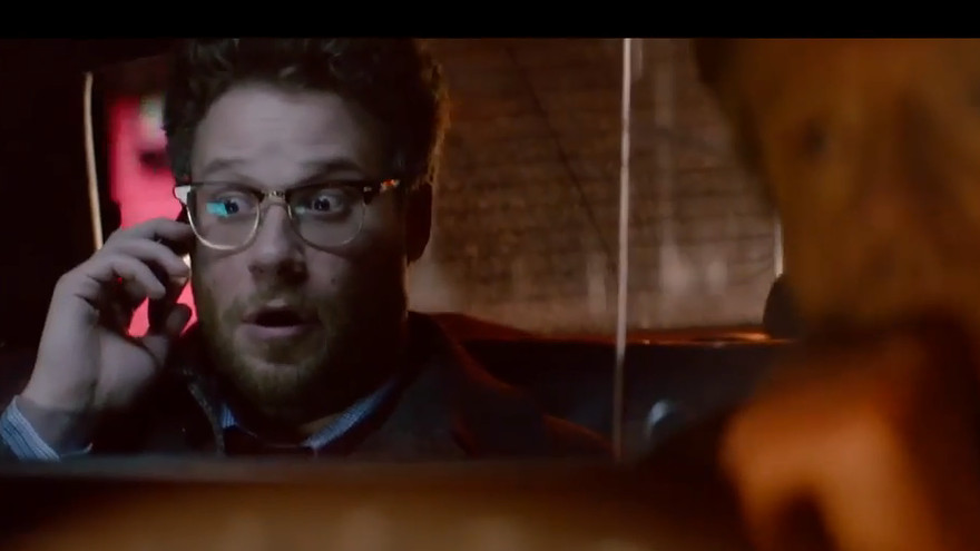 Seth Rogen in Sony Pictures The Interview