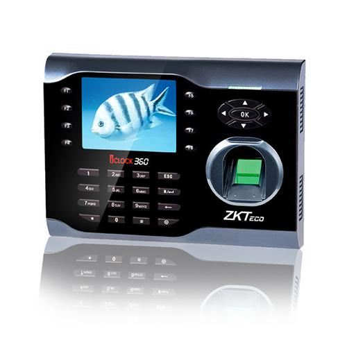 ZKTeco iClock 360 Fingerprint, RFID Time & Attendance Terminal