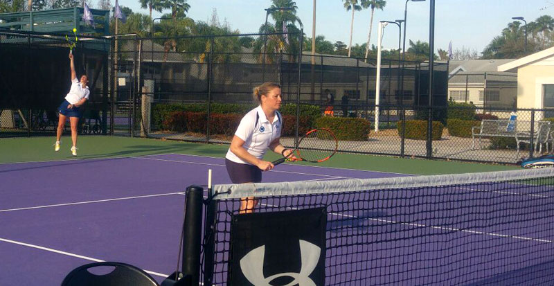 RAF Tennis doubles game at IMG Academy