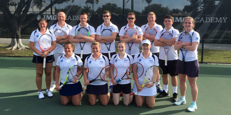 RAF Tennis at the IMG Academy