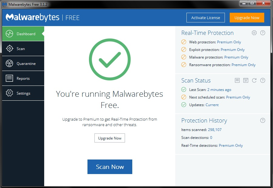 malwarebytes activate license