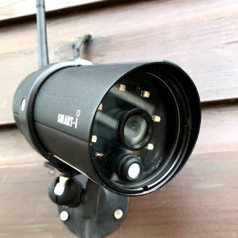 Smart-i bullet-style CCTV camera