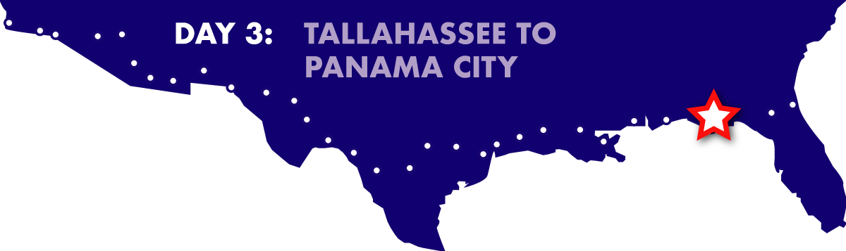 Day 3: Tallahassee to Panama City