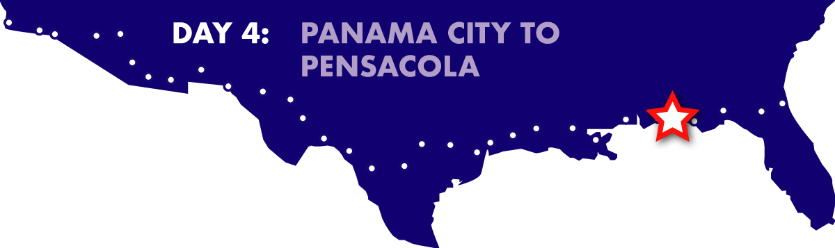 Day 4: Panama City to Pensacola