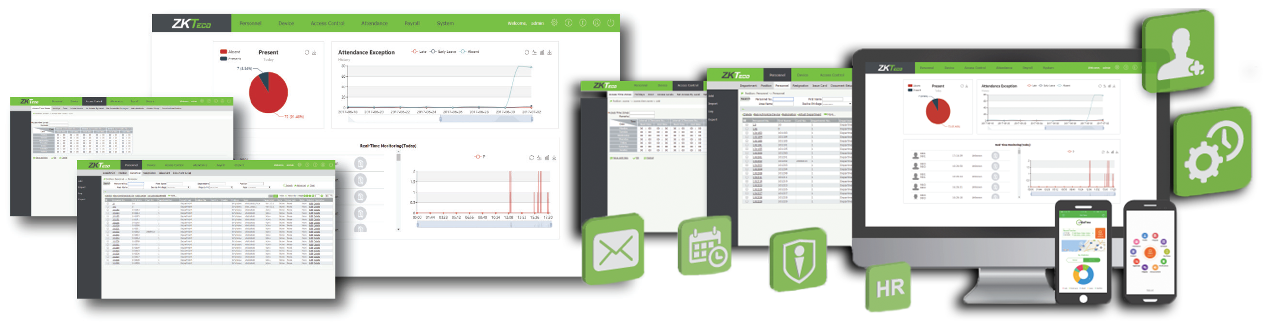 ZK BioTime 7 0 Cloud-Based Time & Attendance Software - Idency