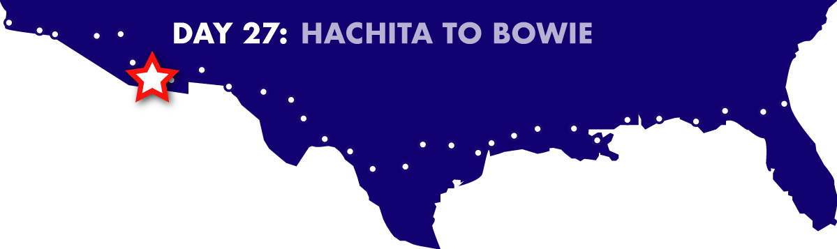 Day 27: Hachita to Bowie