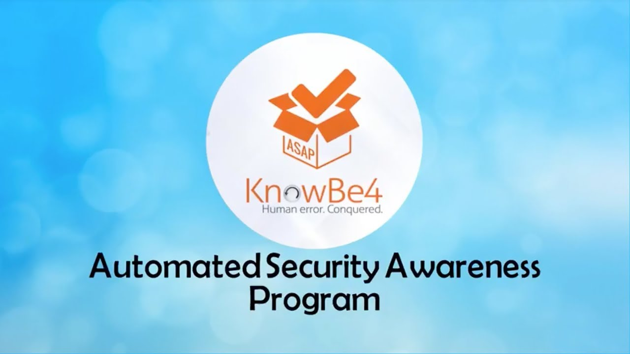 KnowBe4: Free Security Awareness Services - Idency