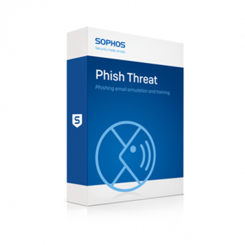 Sophos Phish Threat product box