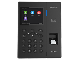 PeopleHR Fingerprint System: Anviz C2 Pro