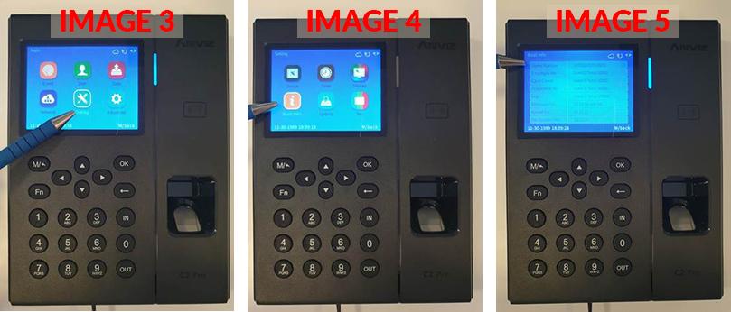 menu-access-serial-number-c2pro