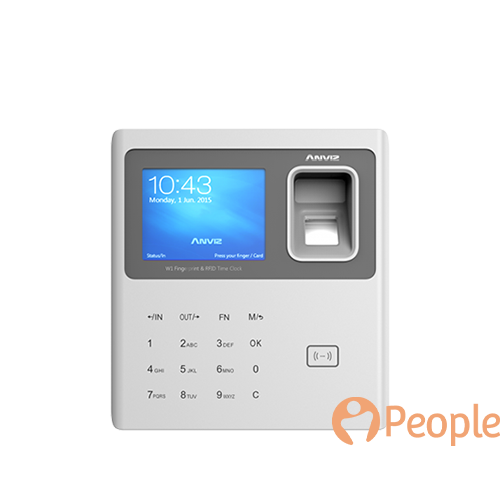 PeopleHR Basic Fingerprint System: Anviz W1