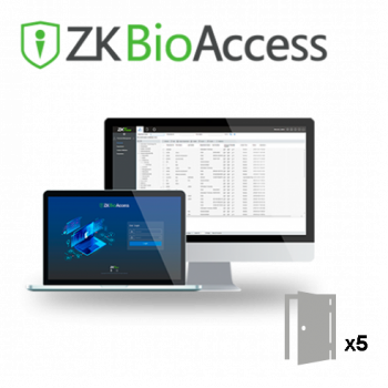 ZKBioAccess Software - 5 Doors