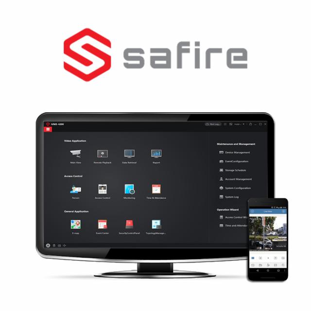 Safire Control Centre Software