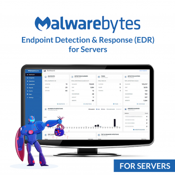 Malwarebytes Endpoint Detection & Response (EDR) for Servers