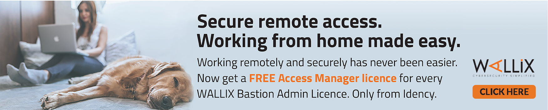 WALLIX remote access offer banner
