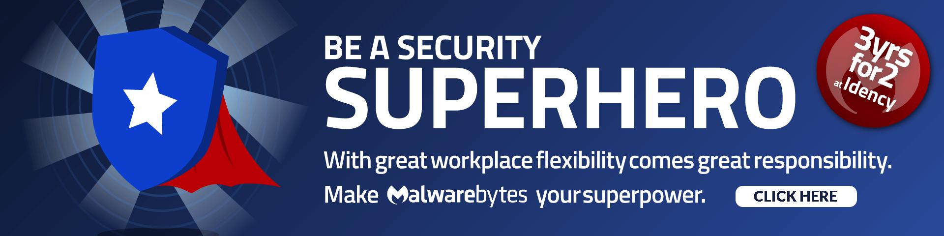 Malwarebytes Buy 2 Years Get 3rd Free Banner - click here
